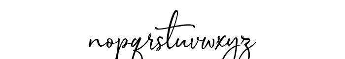 Sophistica1 Font LOWERCASE