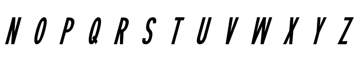 Sophisticated Slims Italic Font LOWERCASE