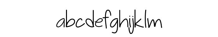 Sophmore Year Font LOWERCASE