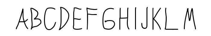 SopraFont Font UPPERCASE