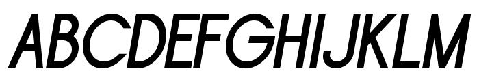 Sornette Bold Italique Font UPPERCASE