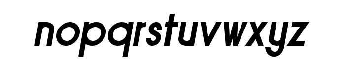 Sornette Bold Italique Font LOWERCASE