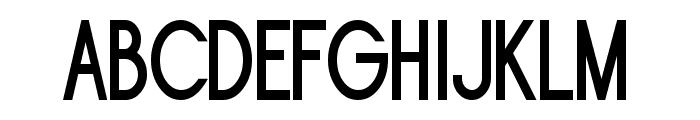 Sornette Bold Narrow Font UPPERCASE