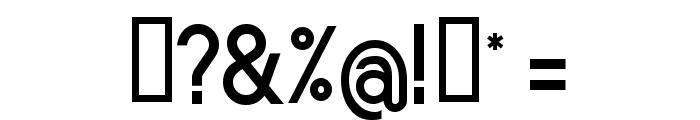 Sornette Bold Font OTHER CHARS