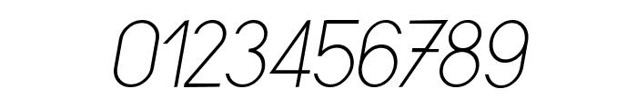 Sornette Light Italique Font OTHER CHARS