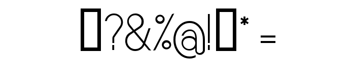 Sornette Light Font OTHER CHARS