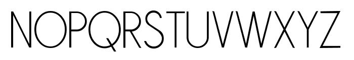 Sornette Light Font UPPERCASE