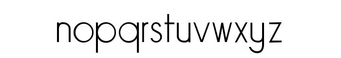 Sornette Light Font LOWERCASE