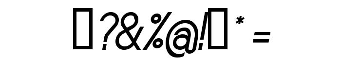 Sornette Regular Italique Font OTHER CHARS