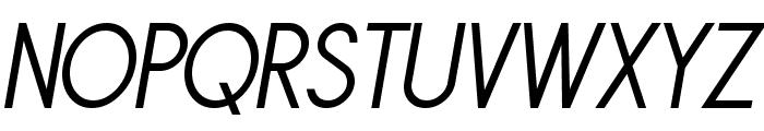 Sornette Regular Italique Font UPPERCASE