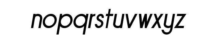 Sornette Regular Italique Font LOWERCASE