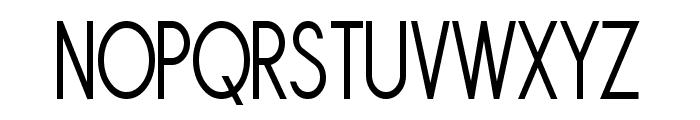Sornette Regular Narrow Font UPPERCASE
