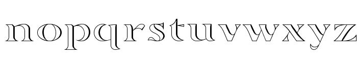 Sortefax Font LOWERCASE