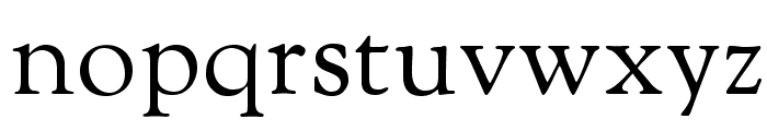 Sorts Mill Goudy Font LOWERCASE