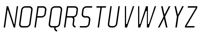 Soul Lotion Light-Italic Font UPPERCASE