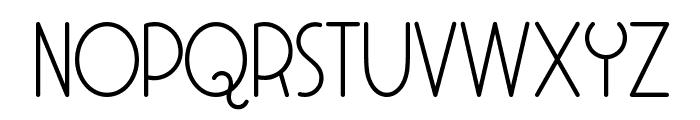 Soul Meets Body Font UPPERCASE