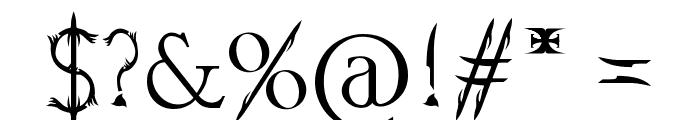 Soul Of Holitter Alternative Font OTHER CHARS