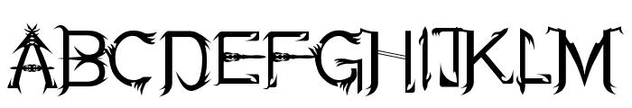 Soul Of Holitter Alternative Font UPPERCASE