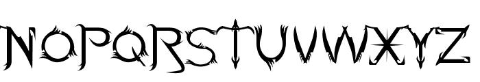 Soul Of Holitter Alternative Font LOWERCASE
