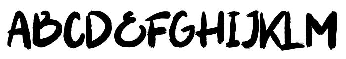 Soul Paint Font UPPERCASE