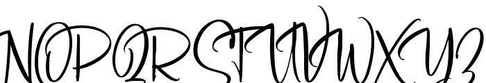 SoulgatesDemo Font UPPERCASE