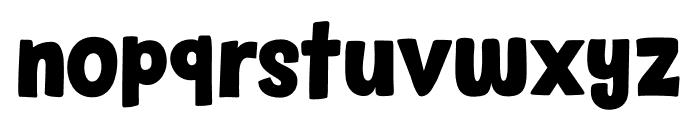 Sound Bubble DEMO Regular Font LOWERCASE
