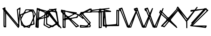 SoupKitchen Font UPPERCASE