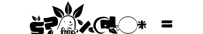 SoupLeaf Font OTHER CHARS