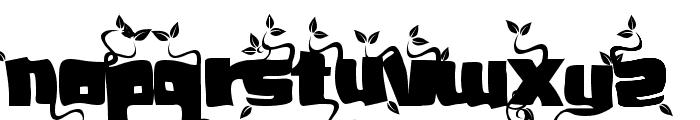 SoupLeaf Font UPPERCASE