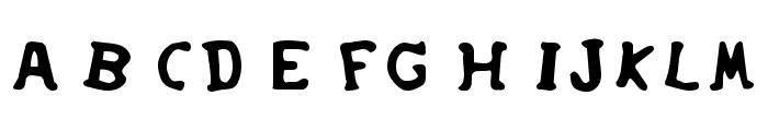 SoupRunny Font UPPERCASE