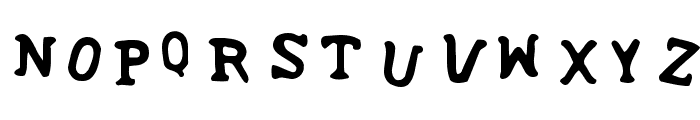 SoupRunny Font LOWERCASE