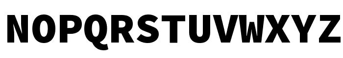 Source Code Pro Black Font UPPERCASE