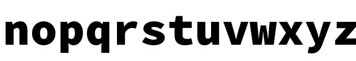 Source Code Pro Black Font LOWERCASE