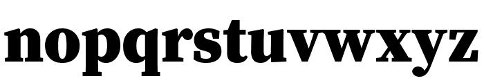 Source Serif Pro Black Font LOWERCASE