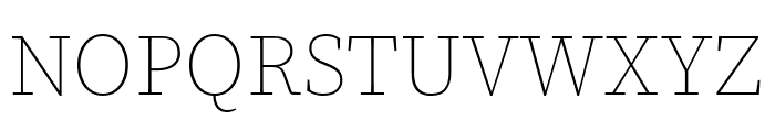 Source Serif Pro ExtraLight Font UPPERCASE