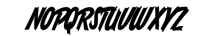 South African Personal Use Font UPPERCASE