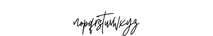 South Walles Font LOWERCASE