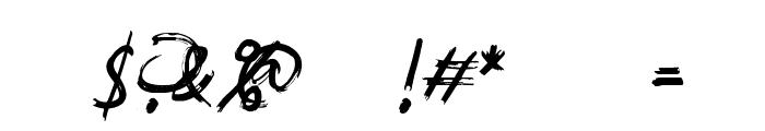 SouthBaggregDemo Font OTHER CHARS