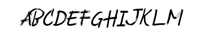 SouthBaggregDemo Font UPPERCASE