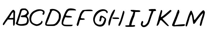 Southofknowingwhy Font UPPERCASE