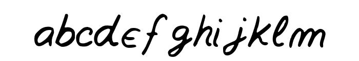 Southofknowingwhy Font LOWERCASE