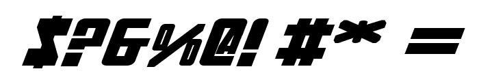 Soviet Bold ExpItal Font OTHER CHARS