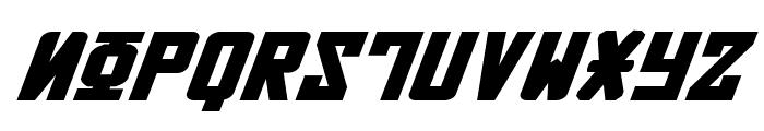 Soviet Bold ExpItal Font UPPERCASE