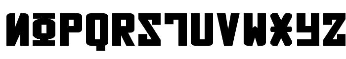 Soviet Bold Expanded Font UPPERCASE
