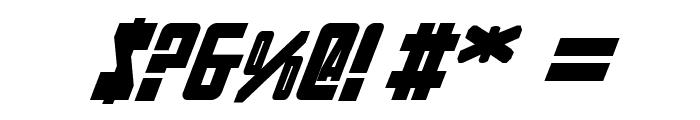 Soviet Bold Italic Font OTHER CHARS