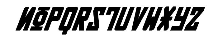 Soviet Bold Italic Font UPPERCASE