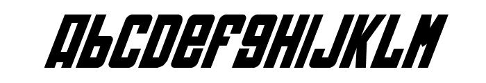 Soviet Bold Italic Font LOWERCASE