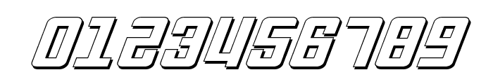 Soviet ExpItal 3D Font OTHER CHARS