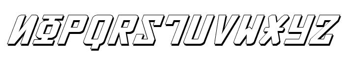 Soviet ExpItal 3D Font UPPERCASE