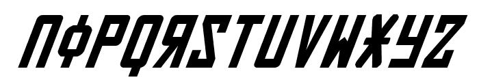 Soviet Italic Font LOWERCASE